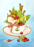 """Вышивка бисером """"Чайная коллекция: Вкус праздника"""""""