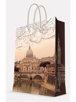 """Пакет бумажный подарочный """"Рим"""" (26х32,4х12,7 см; арт. 39665)"""