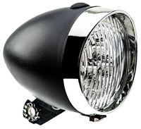 """Фонарь передний для велосипеда """"HW 160302"""" (чёрный)"""