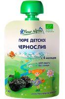 """Детское пюре Fleur Alpine Organic """"Чернослив"""" (90 г)"""