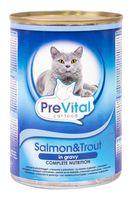 Консервы для стерилизованных кошек (415 г; лосось и форель в соусе)