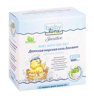 """Соль для ванн детская """"С целебными травами"""" (4х250 г)"""