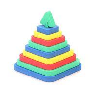 """Развивающая игрушка """"Пирамида - квадрат"""""""