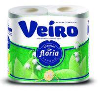 """Туалетная бумага """"Floria. Ландыш"""" (4 рулона)"""