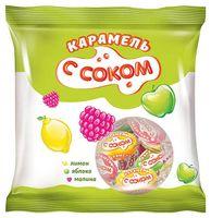 """Карамель """"Ассорти"""" (180 г; яблоко, лимон и малина)"""