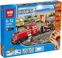 """Конструктор Cities """"Красный товарный поезд"""""""