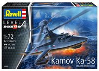 "Сборная модель ""Одноместный ударный вертолёт Kamov Ka-58 Stealth"" (масштаб: 1/72)"