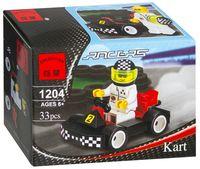 """Конструктор """"Racers. Карт с гонщиком"""" (33 детали)"""