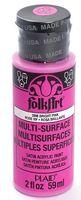 """Краска акриловая """"FolkArt Multi-Surface"""" (светло-розовый, 59 мл; арт. PLD-02896)"""