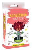 """Набор для выращивания кристаллов """"Бордовый цветок"""""""