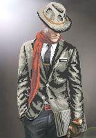 """Вышивка бисером """"Мужчина в шляпе"""""""