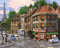 "Картина по номерам ""На улицах Парижа"" (400х500 мм; арт. PC4050131)"