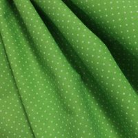 """Ткань """"Мелкий горошек"""" (ярко-зеленый)"""