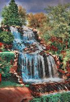 "Вышивка бисером ""Водопад"" (260х380 мм)"