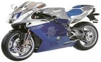"Мотоцикл ""MV Agusta F4 Special Parts"" (масштаб: 1/9)"