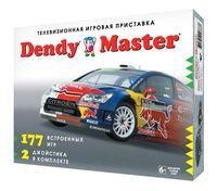 Игровая приставка DENDY Мастер (177 встроенных игр + 2 джойстика)