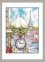 """Вышивка крестом """"Весна в Париже"""""""