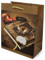 Пакет бумажный подарочный (11x13x6 см; арт. 1036 S)