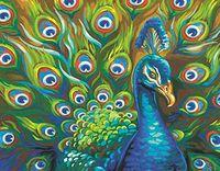 "Картина по номерам ""Дикие перья"" (280х360 мм; арт. 91477-73-DMS)"