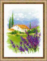 """Вышивка крестом """"Ферма в Провансе"""" (180x240 мм)"""