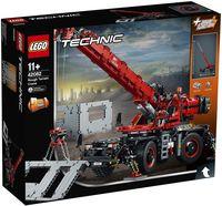 """LEGO Technic """"Подъёмный кран для пересечённой местности"""""""