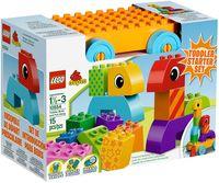 """LEGO Duplo """"Веселая каталка с кубиками"""""""