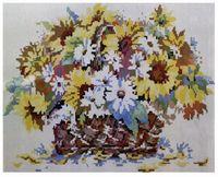 """Алмазная вышивка-мозаика """"Букет полевых цветов"""" (400x500 мм)"""