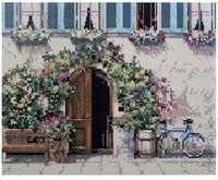 """Алмазная вышивка-мозаика """"Цветочная дверь"""""""