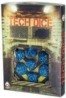 """Набор кубиков """"Tech"""" (7 шт.; сине-черный)"""