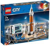 """LEGO City """"Ракета для запуска в далекий космос и пульт управления запуском"""""""