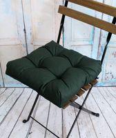 """Подушка на стул """"Monochrome"""" (40х40 см; изумрудная)"""