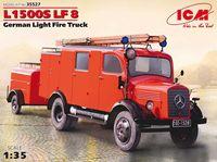"""Германский легкий пожарный автомобиль """"L1500S LF 8 2МВ"""" (масштаб: 1/35)"""