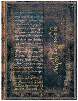 "Записная книжка Paperblanks ""Микеланджело. Рукописи"" нелинованая (формат: 180*230 мм, ультра)"