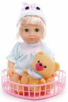 Кукла с игрушкой-пищалкой