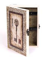 Ящик для ключей деревянный настенный (25,5х18,5х6,5 см; арт. 7790126)