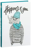"Блокнот ""Happiness is you (Блокнот для хипстеров)"" (А5)"