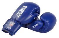Перчатки боксерские REX BGR-2272 (12 унций; синие)