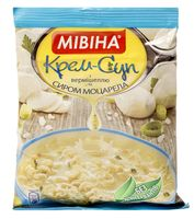 """Суп быстрого приготовления """"Мивина. С вермишелью и сыром моцарелла"""" (57,5 г)"""