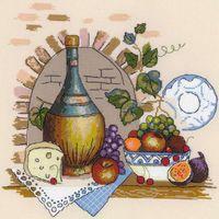 """Вышивка крестом """"Натюрморт с сыром"""" (арт. 1303)"""