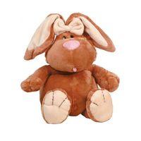 """Мягкая игрушка """"Кролик коричневый сидячий"""" (56 см)"""