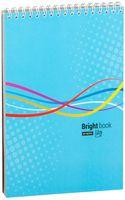 "Блокнот в клетку ""Моноколор. Bright Book"" (А5)"