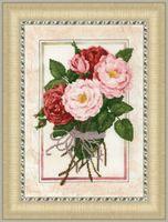 """Вышивка крестом """"Винтажные розы"""""""