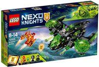"""LEGO Nexo Knights """"Неистовый бомбардировщик"""""""