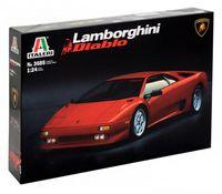 "Сборная модель ""Автомобиль Lamborghini Diablo"" (масштаб: 1/24)"