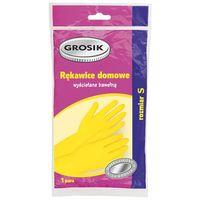 Перчатки резиновые (размер: S; 1 пара)