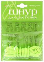 Шнур для плетения (3 м; зеленый неон)