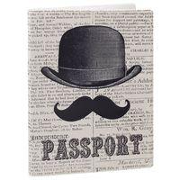 """Обложка для паспорта """"Джентльмен"""" (арт. 35674)"""