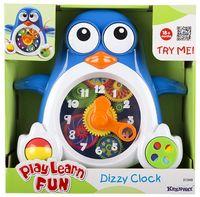 """Развивающая игрушка """"Пингвиненок-часы"""""""