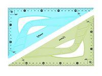 """Треугольник """"Flex"""" (21 см.; 60°)"""