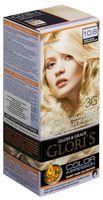 """Крем-краска для волос """"Gloris"""" (тон: 10.6, жемчужно-серебристый)"""